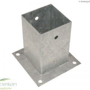 Aufschraubhülsen für quadratische und runde Zaunpfosten