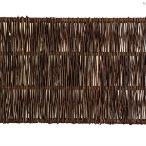 Weidenzaun CAMBO, senkrecht geflochten, 90 x 60