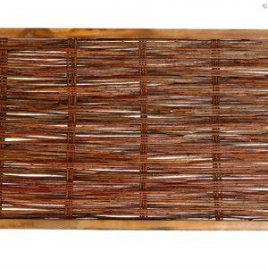 Weidenzaun CAMBO, waagrecht geflochten, 90 x 60